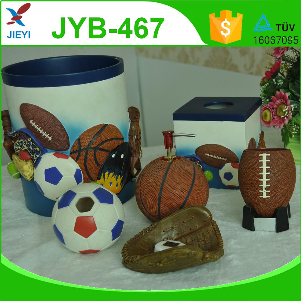 Sports Bathroom Accessories Basketball Bathroom Accessories Bathroom