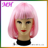High Quality Synthetic Cosplay Wig Long Straight Tangle Free Party Cosplay Wig Beauty Pink Red Blue Synthetic Party Cosplay Wig