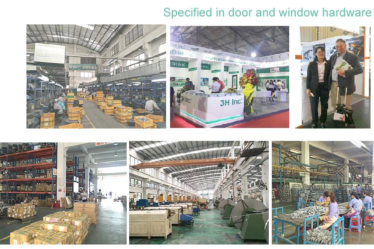 Foshan Manufacturer 3H Lift Slide Door  Hardware Accessories System
