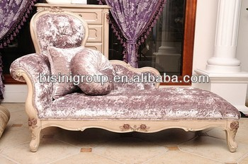 Lavender Purple Lounge Chair In Provence Style Bf11 1112b