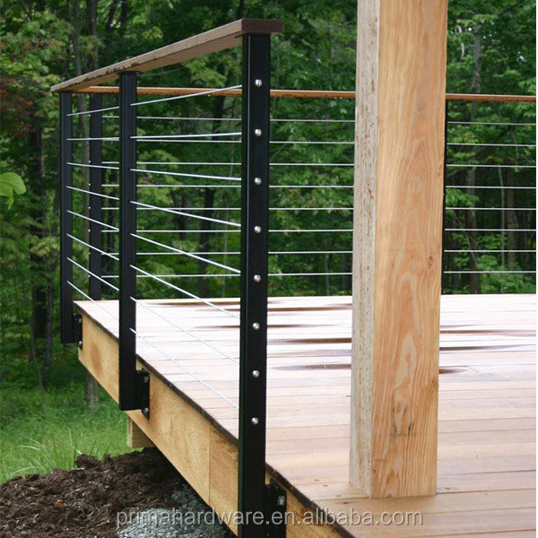PRIMA European stainless steel cable railing