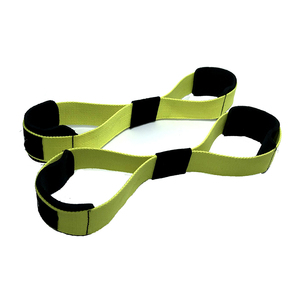 Lifting Straps - Figure 8 Weight Lifting straps Gym Fitness Cross fit Bodybuilding Neoprene Wrist Support