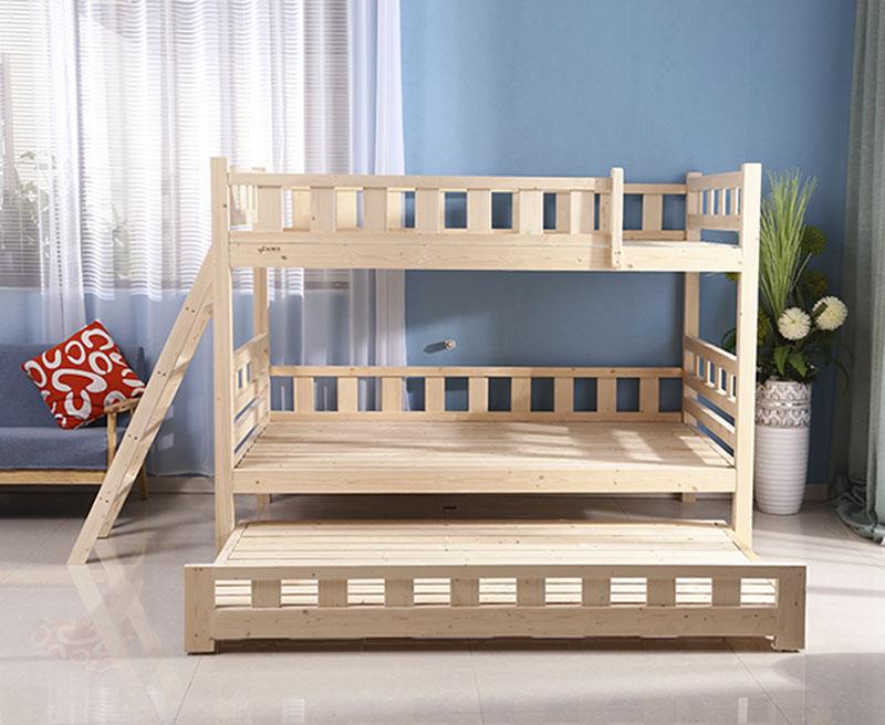 SC0593 Kinder Kinder Schlafzimmer Möbel Etagenbetten Tagesbett Mit Trundle