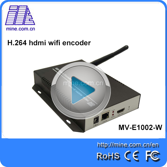 Cable TV Digital H.264 HD HDMI Rtsp Rtmp/udp Iptv 1080p With Wifi Encoder To Iptv Streaming Server