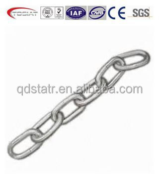 forged US type steel barge chain Large factory made in China