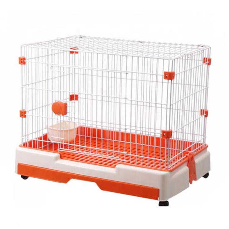 Jaula de viaje para perros pequeños, jaula para mascotas para perros pequeños, conejo y gatos, respetuosa con el medio ambiente, suministro de fábrica
