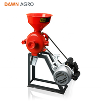 DAWN AGRO Mini Maize Flour Mill Milling Grain Grinding Machine Price