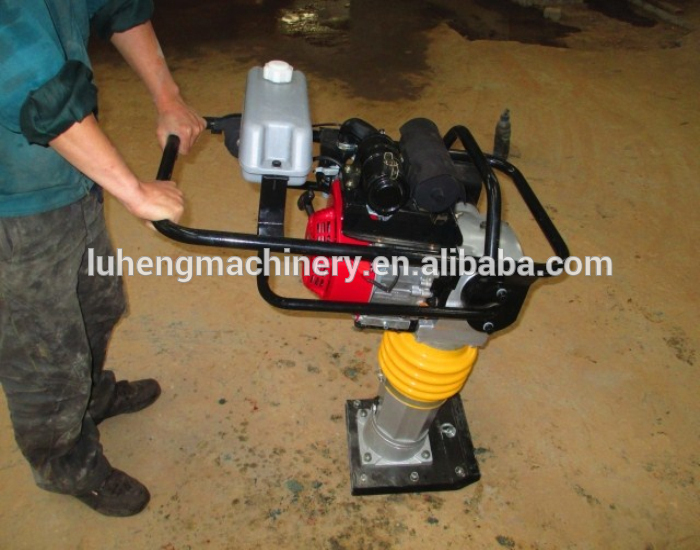 High Quality Compactador/Tamping rammer with 5.5HP Honda GX160