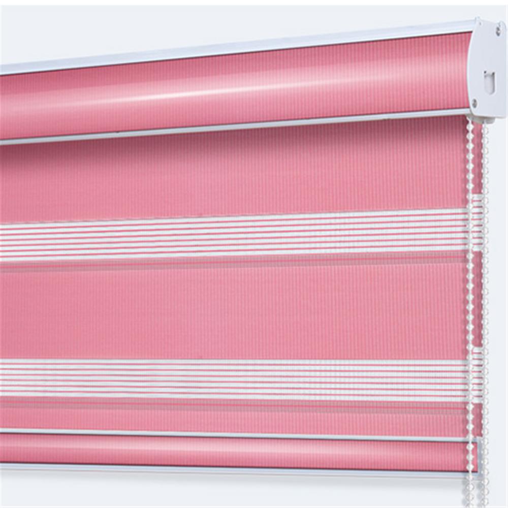 goedkope fabriek prijs nieuwe ontwerp roze kleur zebra blinds voor slaapkamer decor goede voor slapen