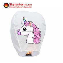 Unicorn Theme Birthday Party or Baby shower decoration lantern