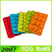 Lfgb Certified Good-Looking Make To Order Foldable Silicone Novelty Silicone Ice Molds