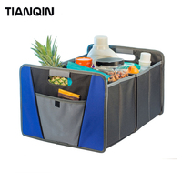 Alibaba Hot Sale Fully Collapsible Portable Folding Car Boot Organizer Trunk Organizer