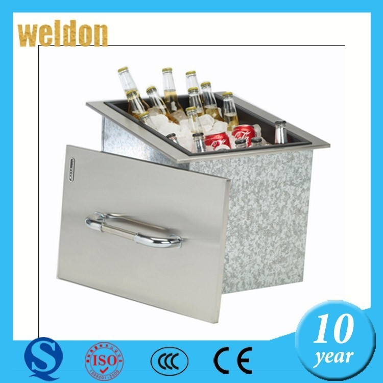 WELDON high quality customized size and material sheet metal box/bin for goods delivery precision sheet metal fabrication