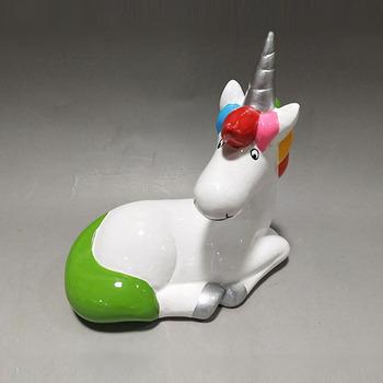 Diy Plaster Ceramic Unicorn Squishy Birthday Invitations Accessories Gifts Sitting