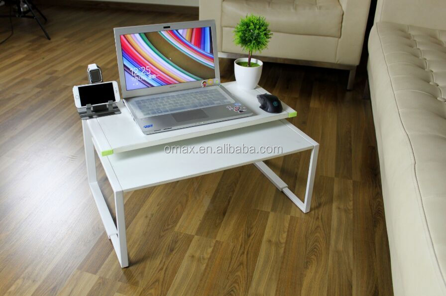 Wood Laptop Stand For Macbook, For Apple iMac Wooden Stand Holder With Paper Box Packing