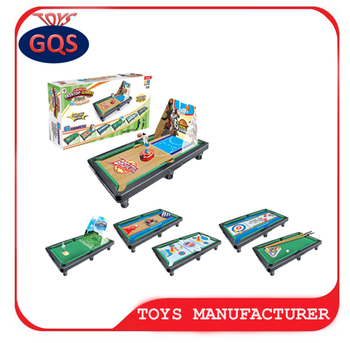 Multifunction 6 In 1 Game Table For Kids