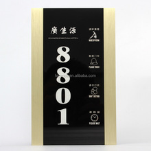 Hotel Electronic Doorplate with Room Number/Do Not Disturb /Clean up system