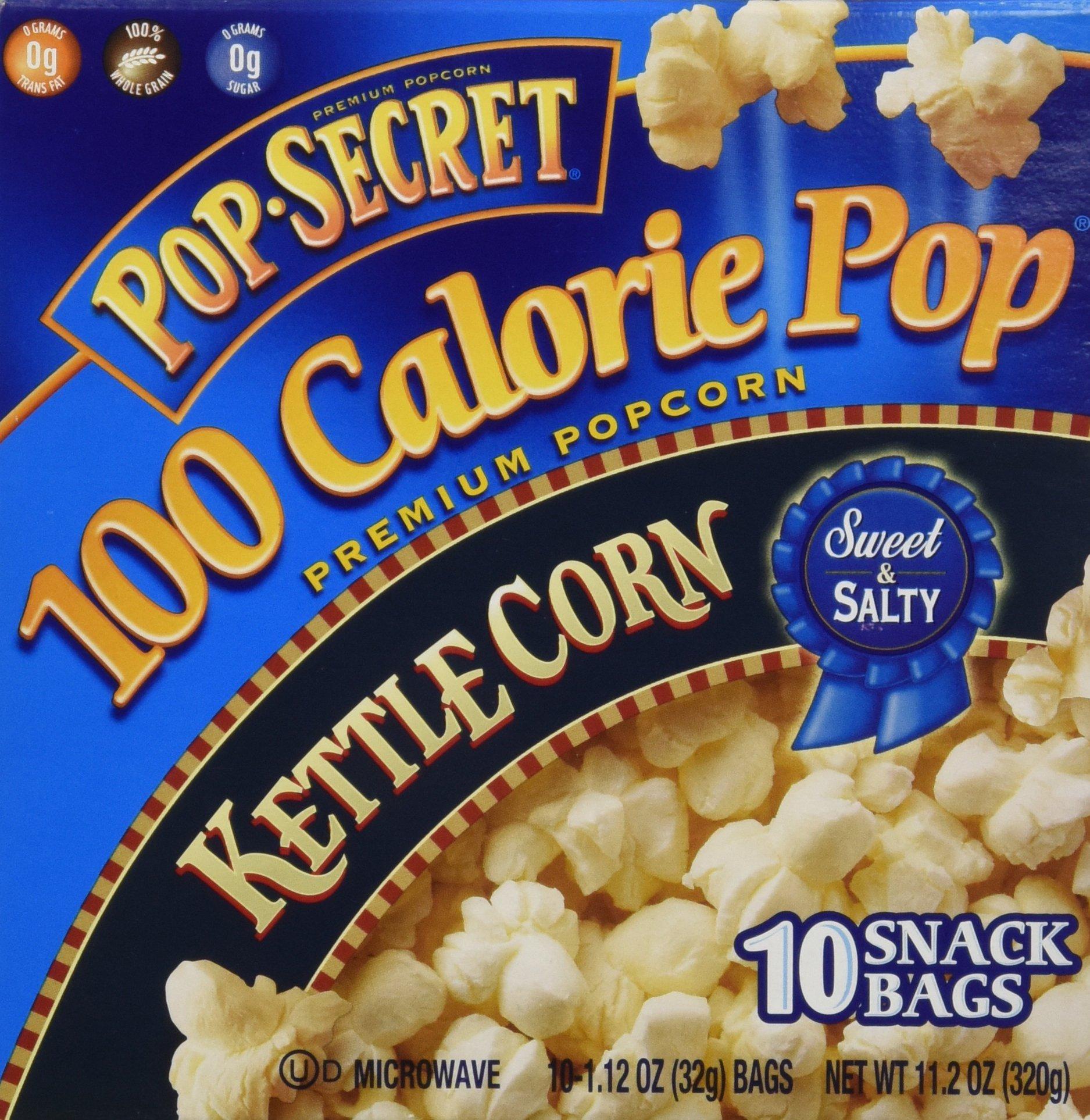 Pop Secret 100 Calorie Kettle Corn - 11.2 oz - 10 ct