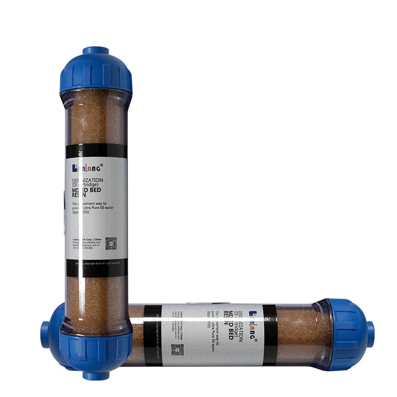 Best quality t33 inline di resin <strong>water</strong> filter cartridge for <strong>water</strong> purfication <strong>system</strong>