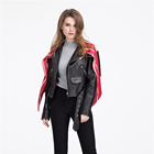 Best Selling Brand Ladies Woman Silk Scarf Real Sheepskin Leather Jacket For Women