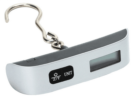 Handy Portable Digital 1*CR2032 battery Power Promotion Digital Luggage Scale