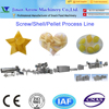 automatic frying snacks starch pellets food processing machine