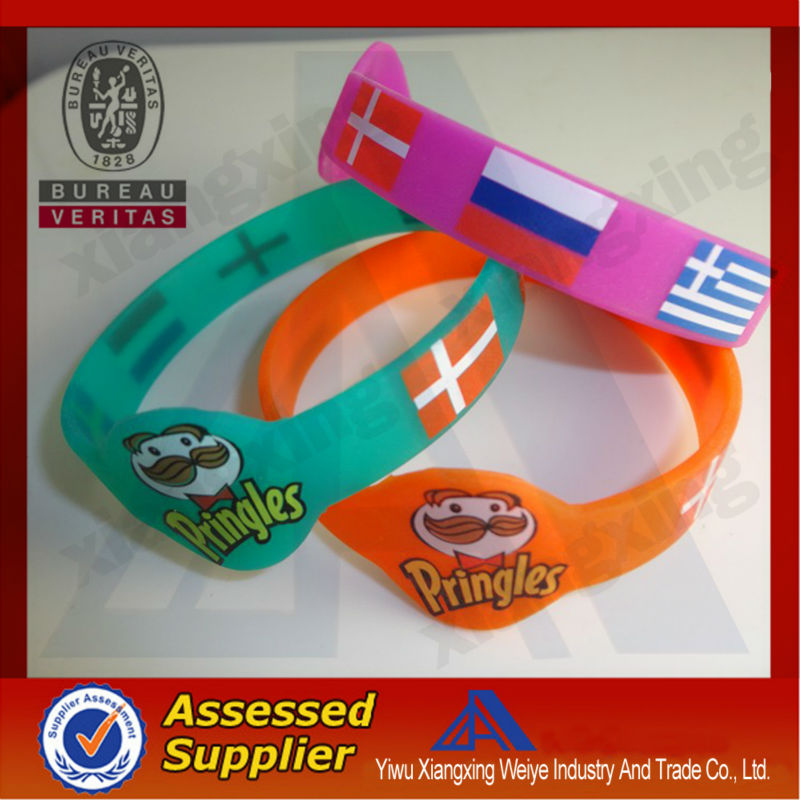 China manufacture silicon bracelet wrist band for ipod nano 6