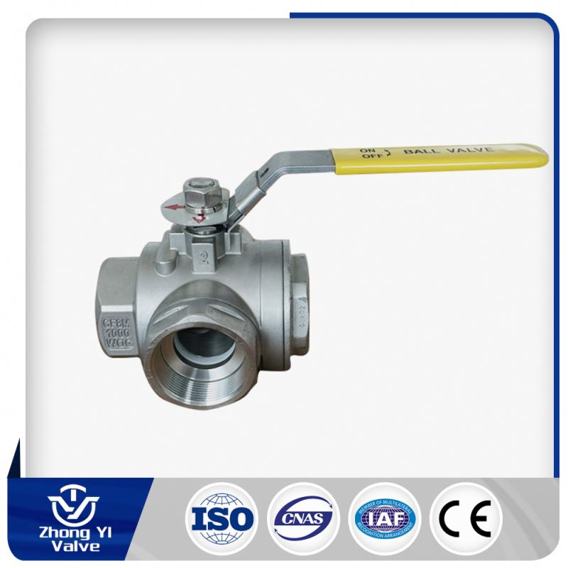 china supplier ball valve three way motorized