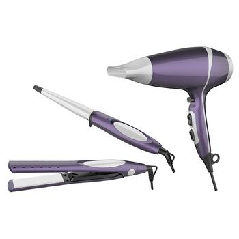hair dryer hair straightener set