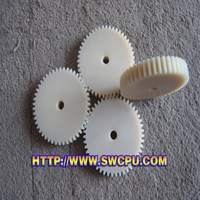 CNC machined plastic gears