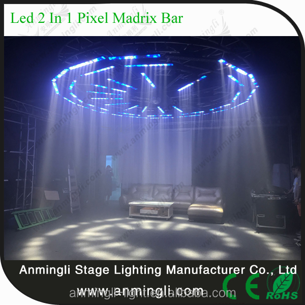 Professional night club show lighting RGBW 4in1 LED pixel mapping dj equipment disco light prices