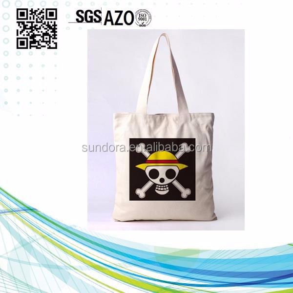 Promotional <strong>eco</strong> friendly natural handled handmade cotton bag