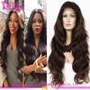 100% Unprocessed remy human hair wigs 100% Virgin brazilian hair full lace wig with baby hair