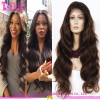 Unprocessed remy human hair wig 100% Virgin brazilian hair full lace wig with baby hair