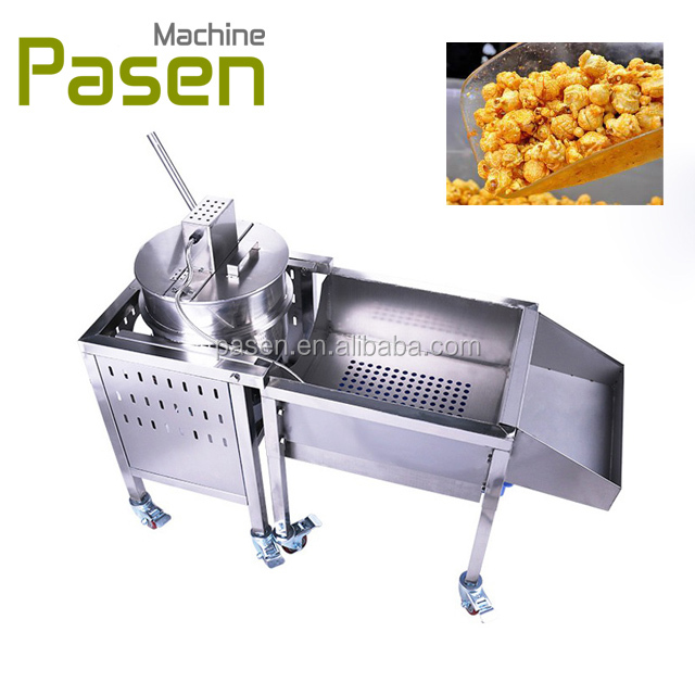commercial caramel industrial continues popcorn machine making price