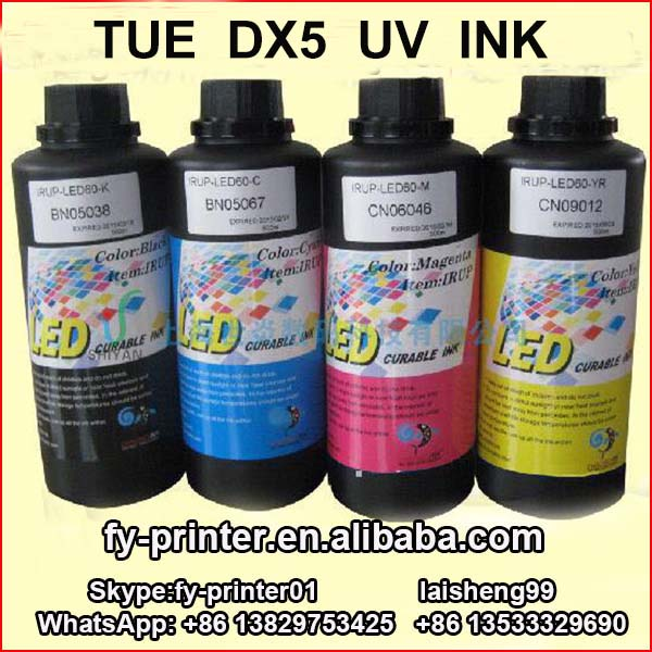 Digital flatbed printer UV ink