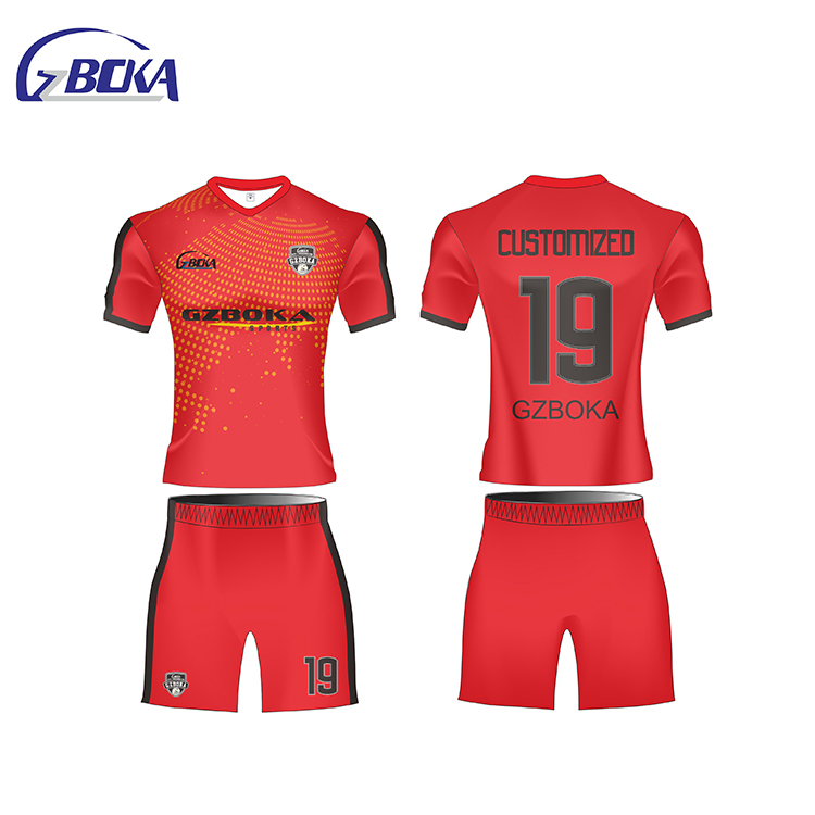 735b6dd1e Boka comercio garantía de uniformes de fútbol de camisetas de fútbol baratas  Tailandia