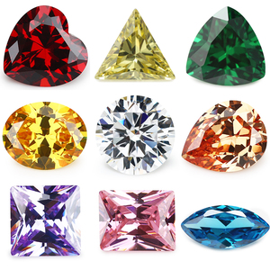 Various Shape Cubic Zirconia Color Loose AAA CZ