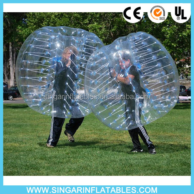 Incredible Fun!!! New-style outdoor sport/Body Zorbing ball/Bubble soccer From China Supplier