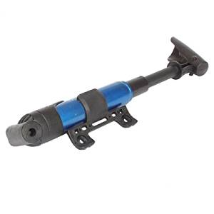 Mini Bike Bicycle Cycling Portable Foldable Tyre Tire Air Pump Blue