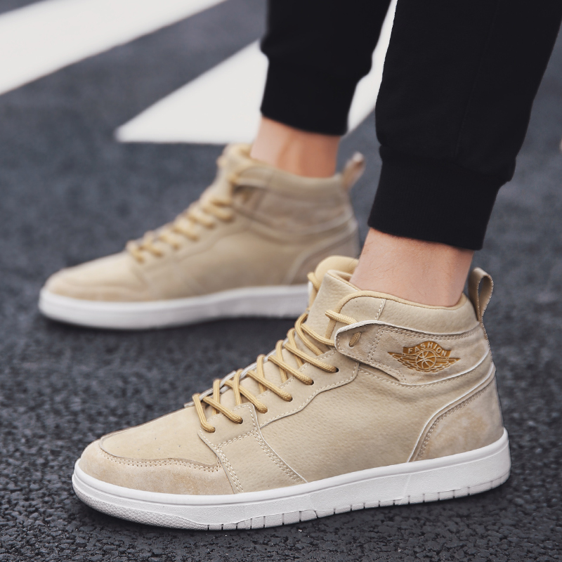 2019 New Style Sneakers PU Basketball <strong>Shoes</strong> for men Sport <strong>Shoes</strong> Walking Snerakers