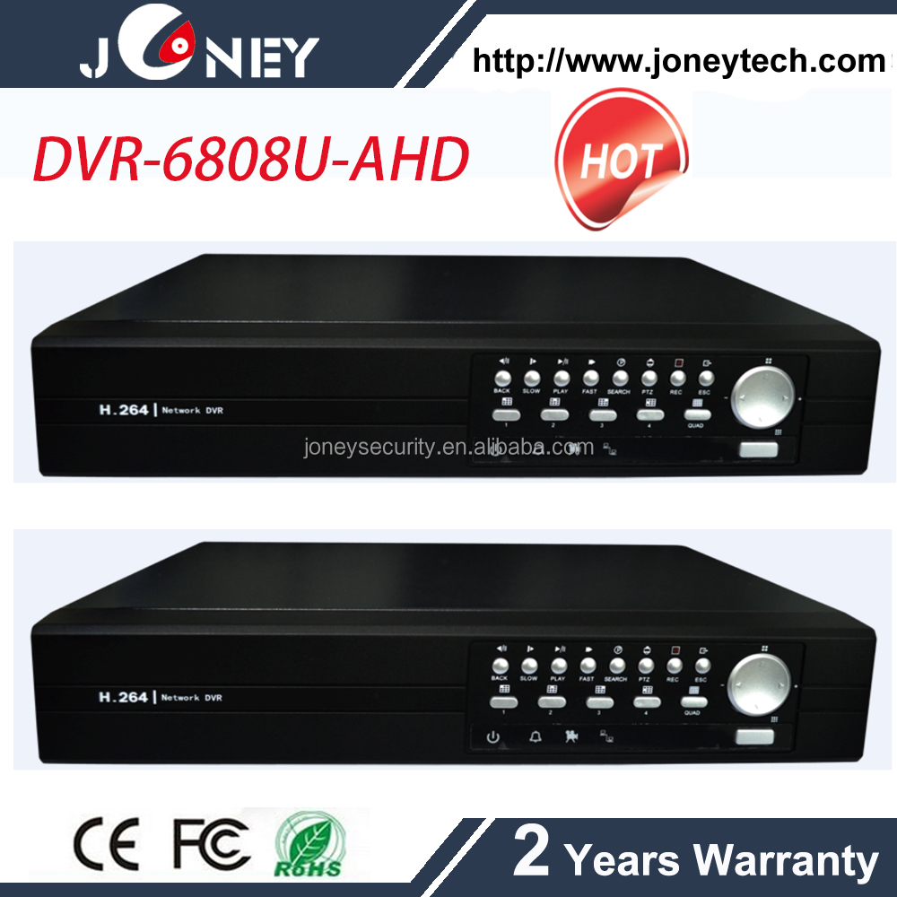 Realtime Playback Dvr H 264 8ch With Audio,Alarm Support 2pcs Hdd 8 Channel  Ahd Dvr - Buy Dvr H 264 8ch,8 Channel Ahd Dvr,Dvr H 264 8ch Product on  Alibaba. ...