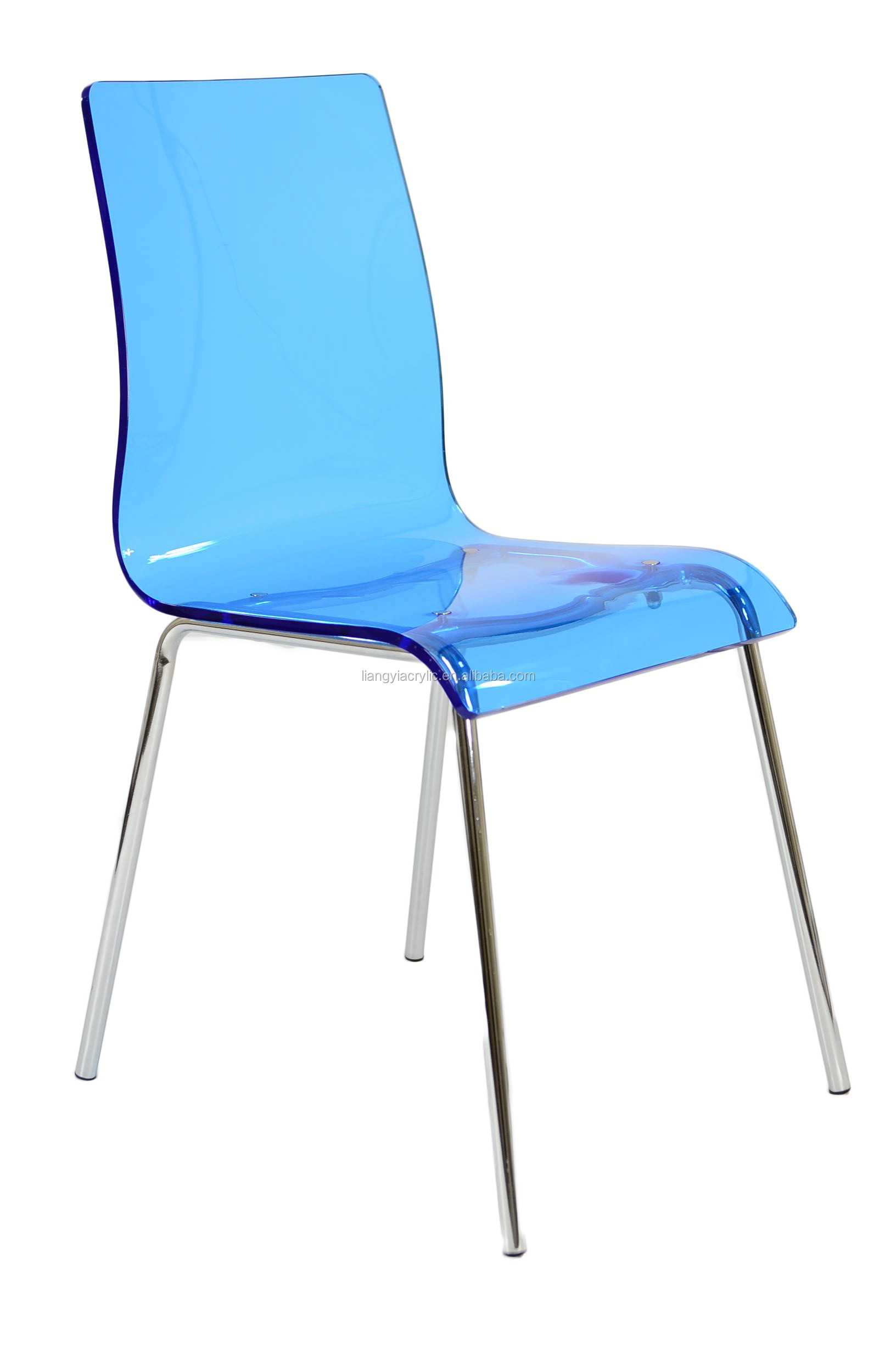 High Quality Beautiful Blue Acrylic Chair Buy Blue Acrylic Chair