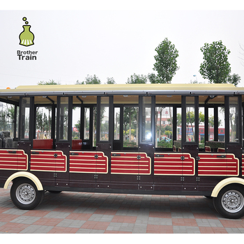 Used electric outdoor trackless train carriages for sale