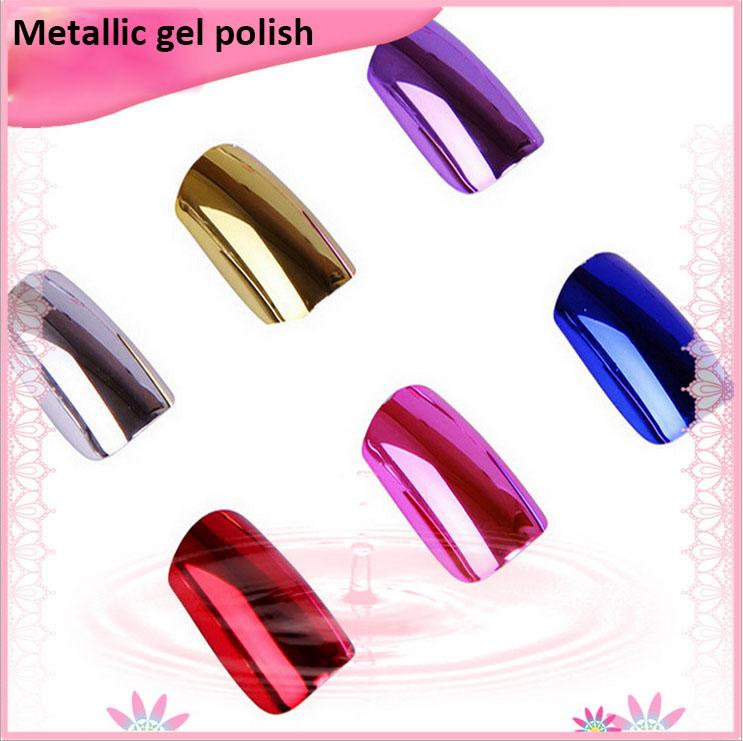 Miroir effet vernis ongles m tallique gel polonais uv for Vernis a ongle effet miroir