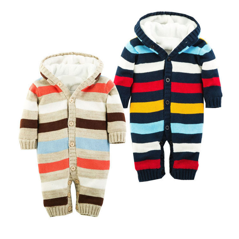 15e5d5412aae Get Quotations · 2015 New Carters Winter Baby Rompers Cotton Boys Girls  Warm Thicken Bebes Toddler Clothes Cotton One