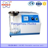 Yb-dx-98-3 Dc/ac Emergency Medical Equipment Vacuum Pump Manual ...