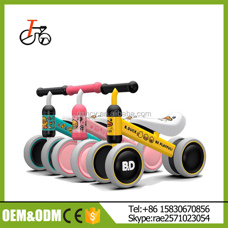 Cheap Price Popular Lovely 12 inch Kids Balance bike Without Pedal/Training bike for sale
