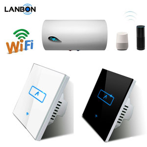 Lanbon New Smart WiFi Electric Water Heater Boiler Switch 2G/3G/4G remote control wall switch smart heater timer controller
