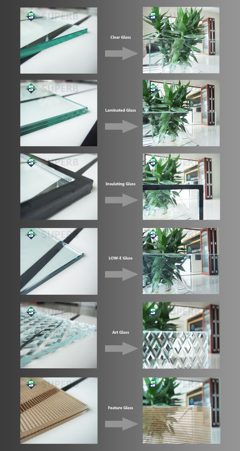 Glass Thermal Break : Thermal break aluminum window with steel stainless screen